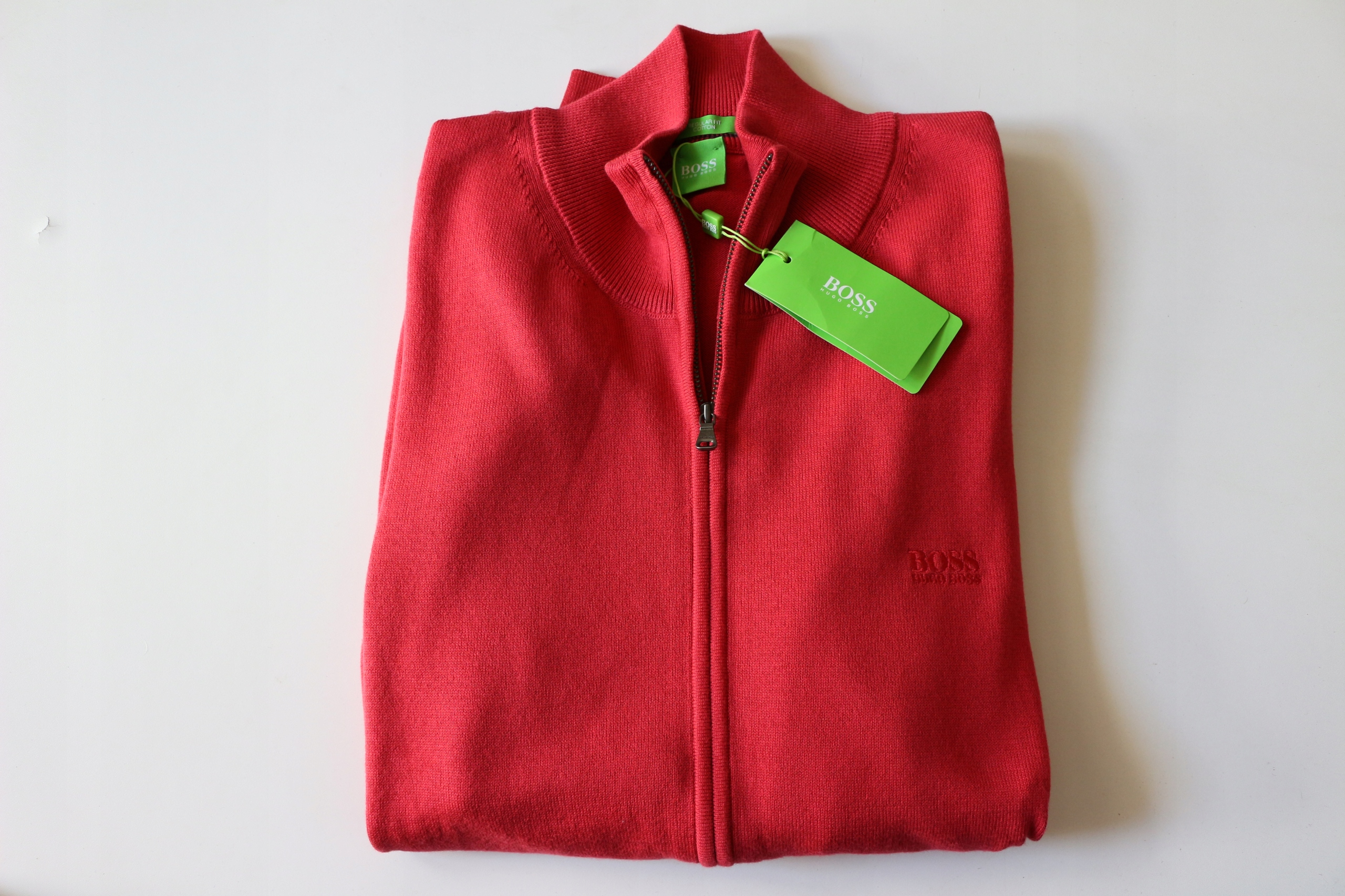 72053ea016b2e HUGO BOSS GREEN sweter rozpinany rozm XXL Łódź - 7643263181 ...