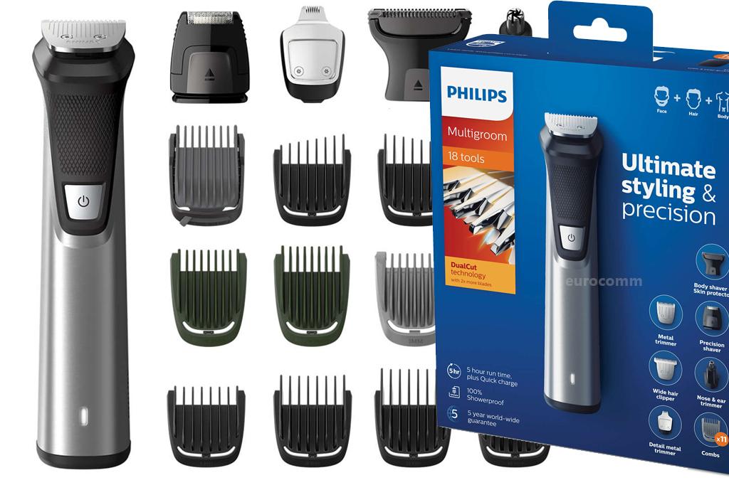 Philips 7000 MG7770 15 TRYMER 18w1 Multigroom 18w1 - 7323125045 ... df85a3c8134