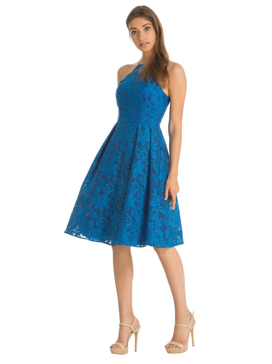 b6e1c710bbe978 ASOS chi chi sukienka rozkloszowana koronka 36 S - 7351527679 ...