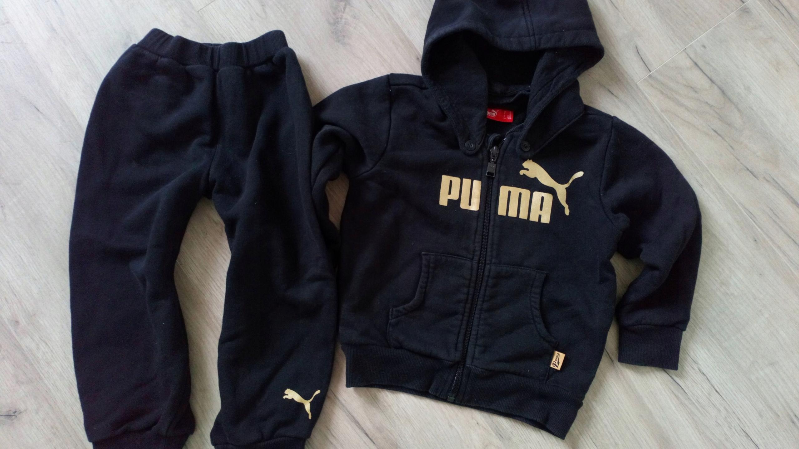 o rozsądnej cenie przemyślenia na temat najnowszy projekt Puma ekstra dres rozm 2 lata 92