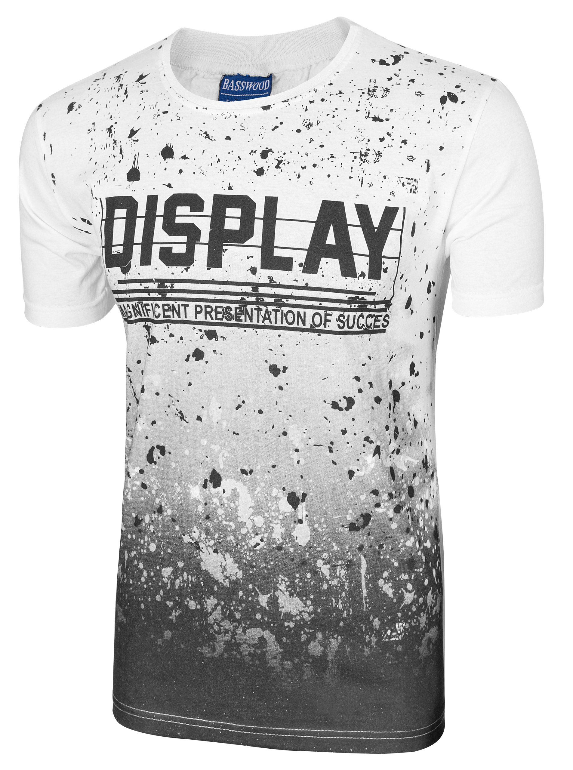 86de88a350412 Koszulka Podkoszulek T-shirt Męski KP05 3XL biały - 7274042901 ...