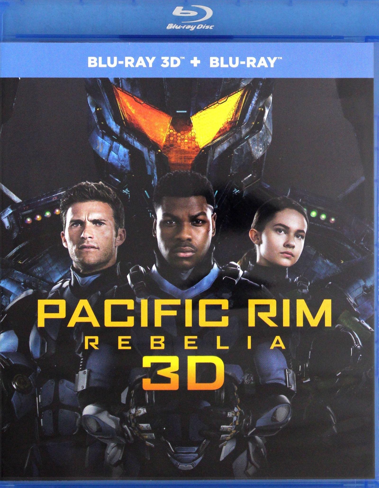 PACIFIC RIM REBELIA BLU-RAY 3D + BLU-RAY PL
