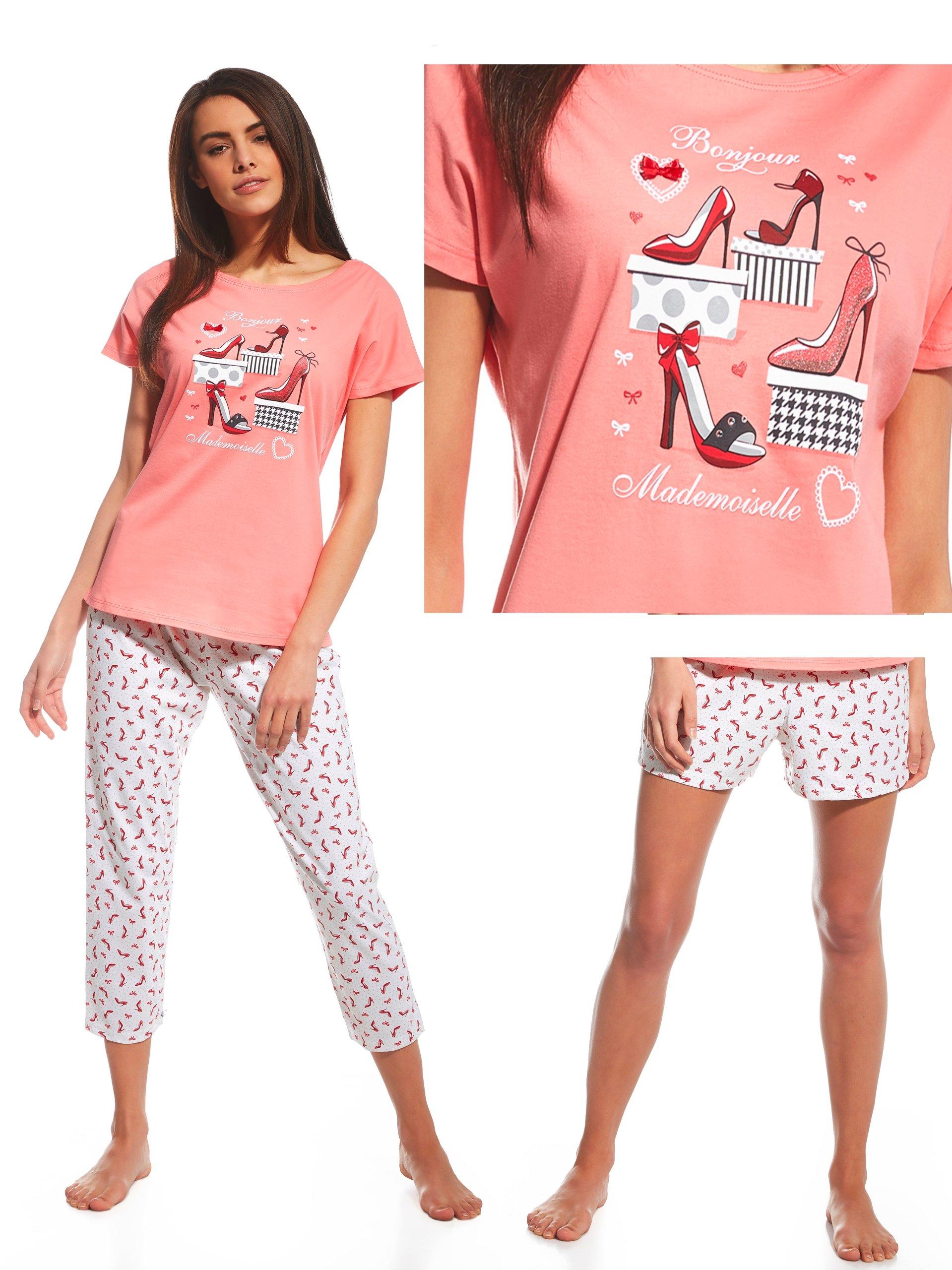 313b8403f03e7d Cornette piżama damska RED SHOES (665/98) XL 42 3c - 6740747503 ...