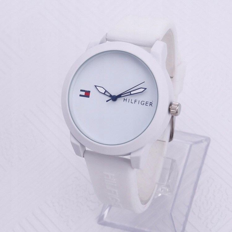 2b20a442bf933 TOMMY HILFIGER zegarek biały - 7759071527 - oficjalne archiwum allegro
