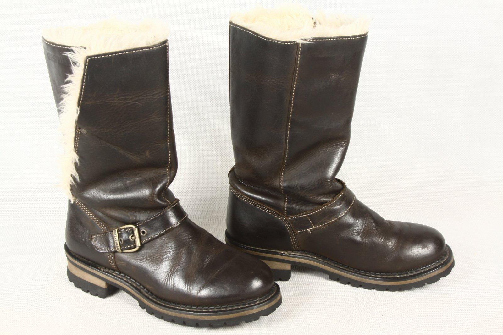b07da47a buty kowbojki męskie CAT CATERPILLAR ocieplane 39 - 7057350374 ...