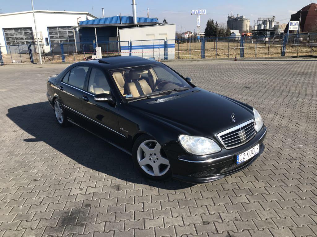 Mercedes Benz S600 L