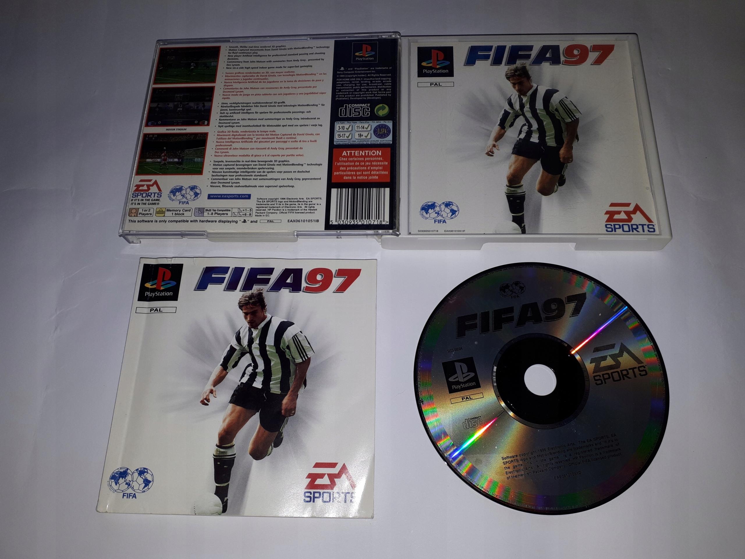 1e526594a FIFA 97 SKLEP GWARANCJA - 7489986448 - oficjalne archiwum allegro