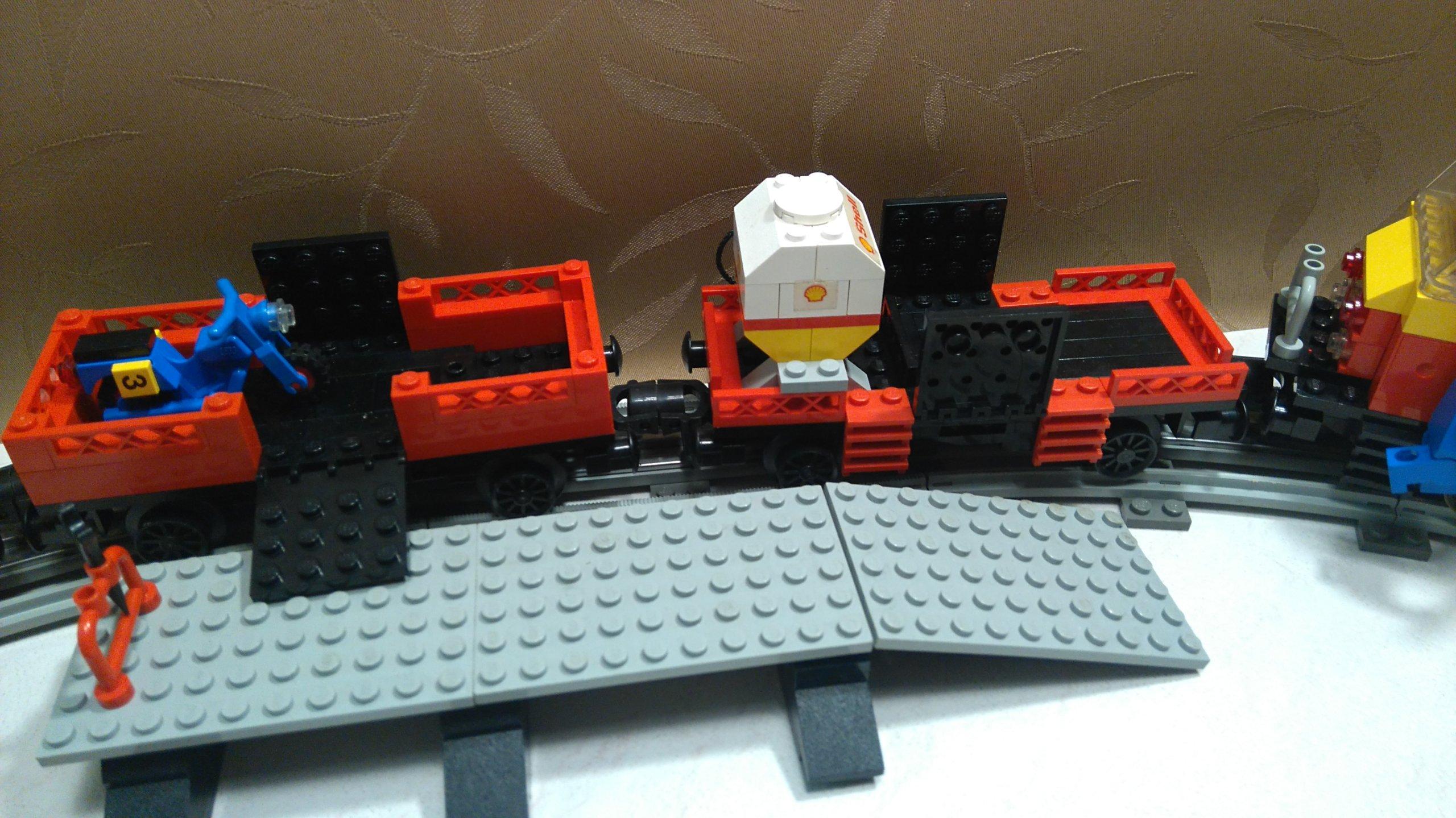 Lego City 7735 Instrukcjapudełko Pociąg Towarowy 7084388095