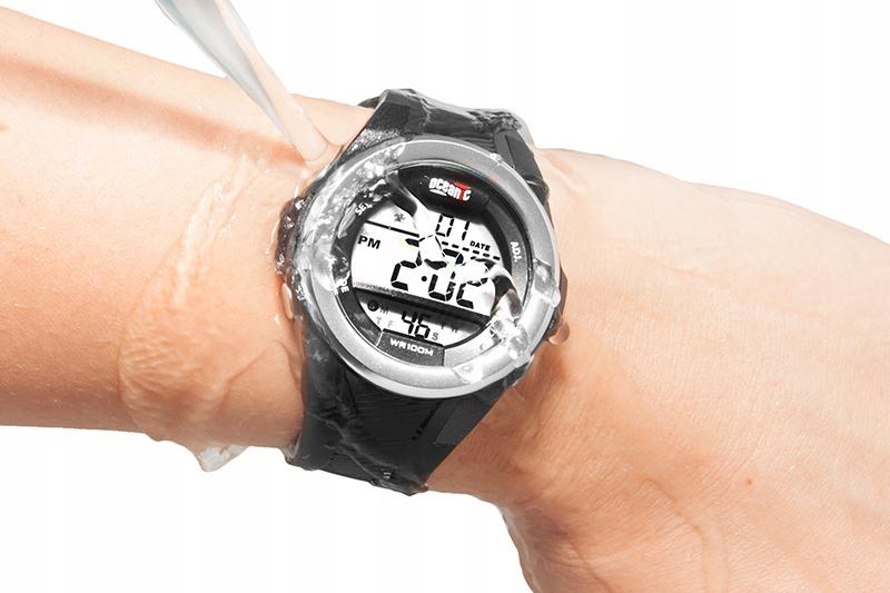 Elektroniczny Damski Zegarek Sportowy Oceanic 7035790718