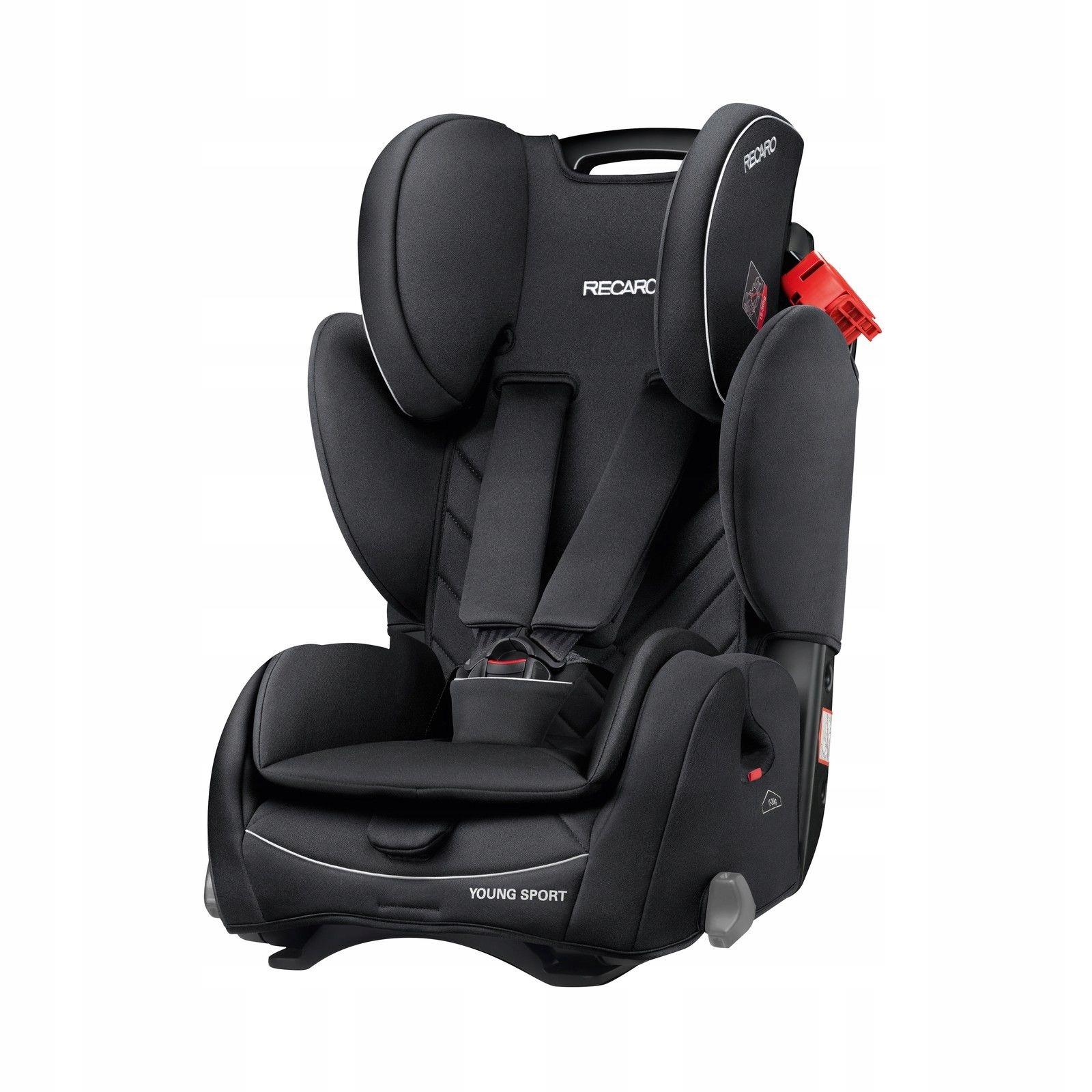 Fotelik samochodowy Recaro YOUNG SPORT 9-36 kg
