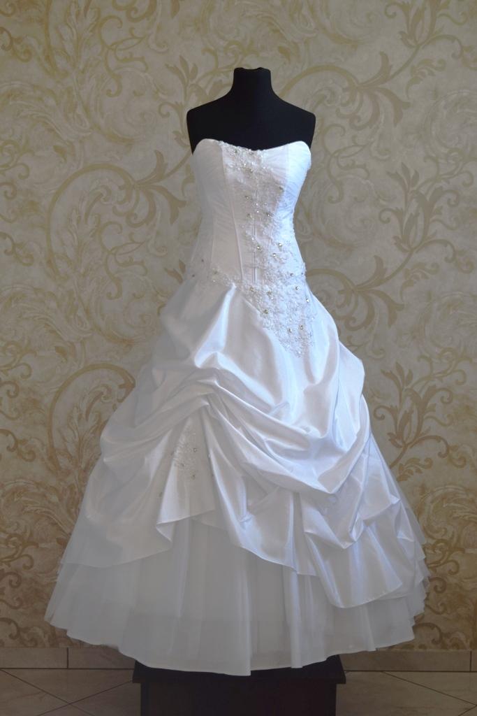 da136770 Suknia ślubna biel roz. 36 - 7242490045 - oficjalne archiwum allegro
