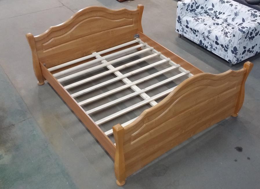 łóżko łoże Retro Stelaż 160 X 200 Olcha 7673073498