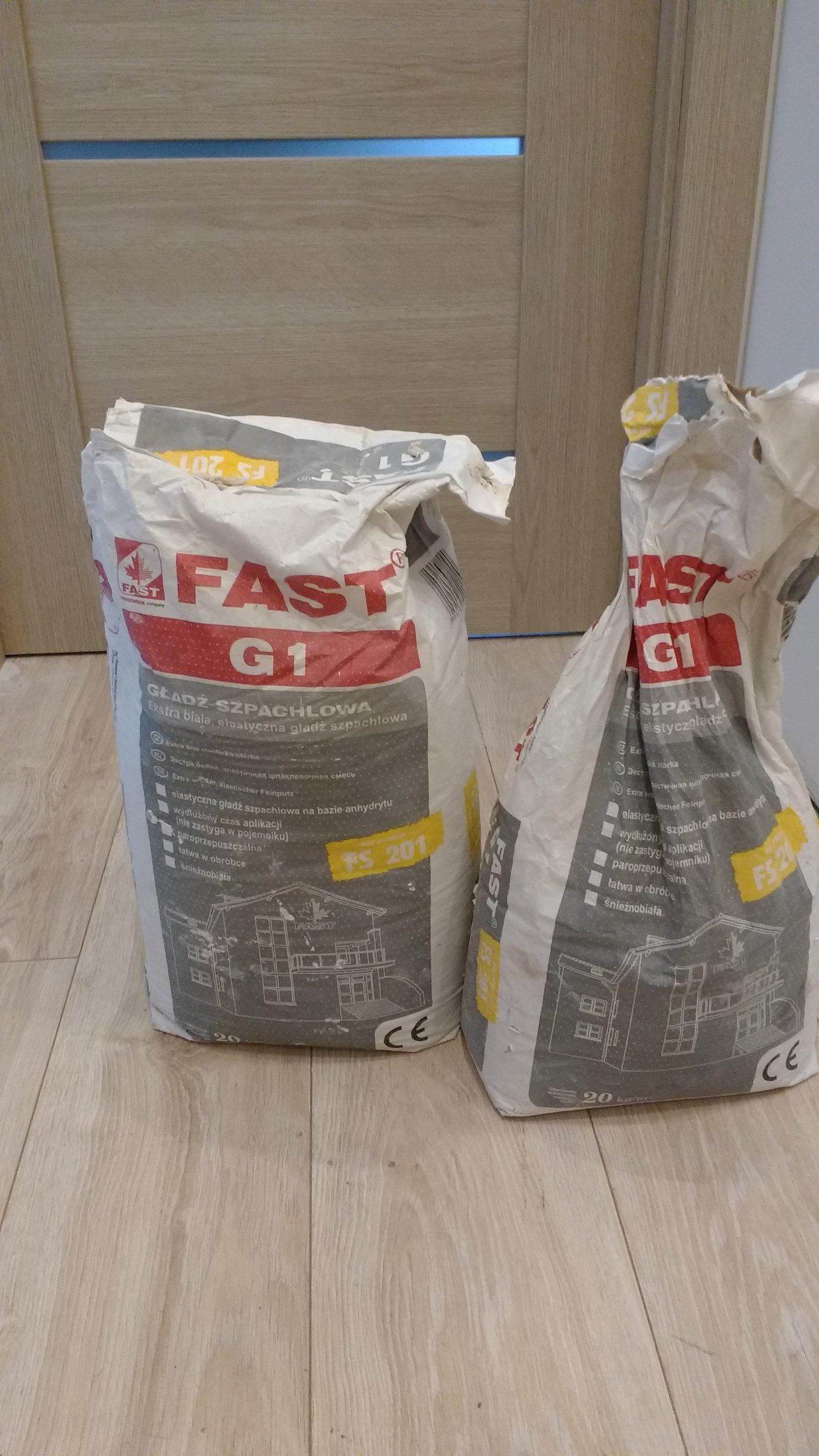 Fast G1 Gładź Szpachlowa 7192206767 Oficjalne Archiwum Allegro