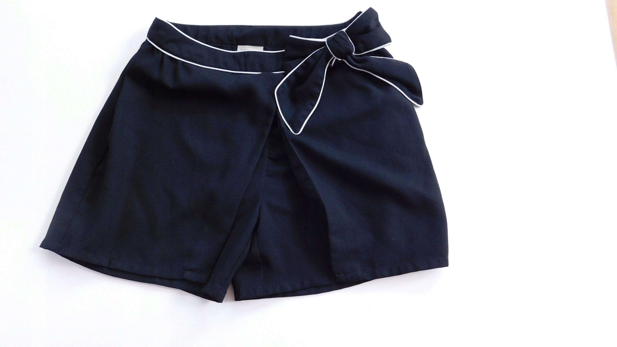 bd270292 Spódniczka czarna eleg spódnico-spodnie 12lat 152c - 7455212760 ...