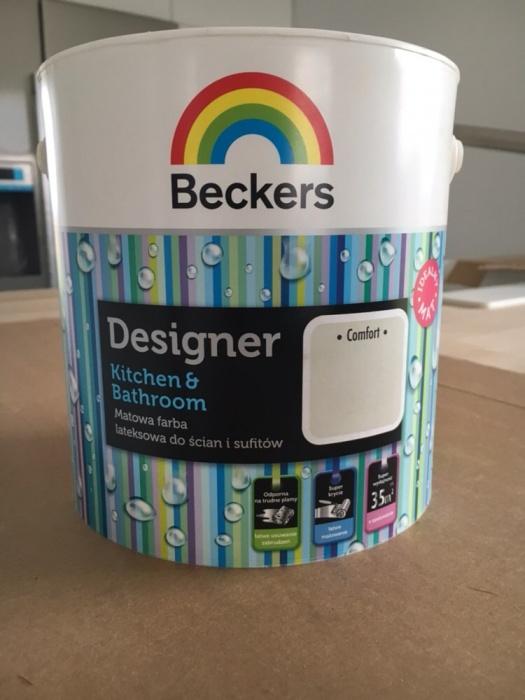 Farba Beckers Designer Kuchnia łazienka Comfort 7186821787