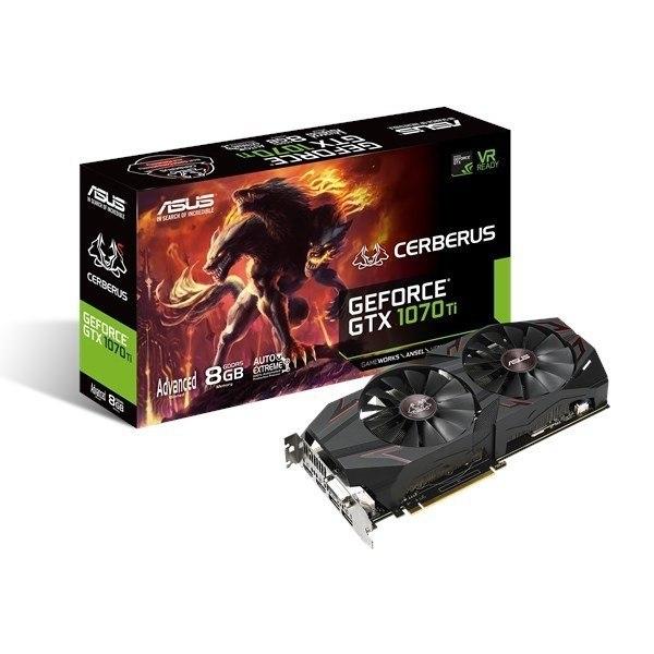 GeForce GTX 1070 Ti Cerberus 8GB GDDR5 DVI-D/2HDMI