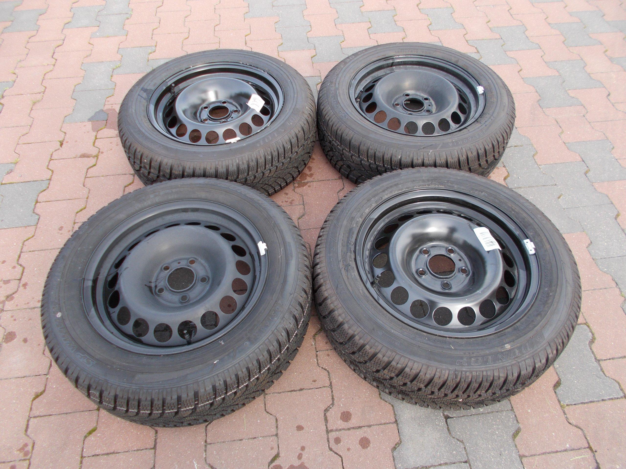 Koła Felgi Opony Audi A5 8t 20560r16 Zimowe Nowe 7354118778