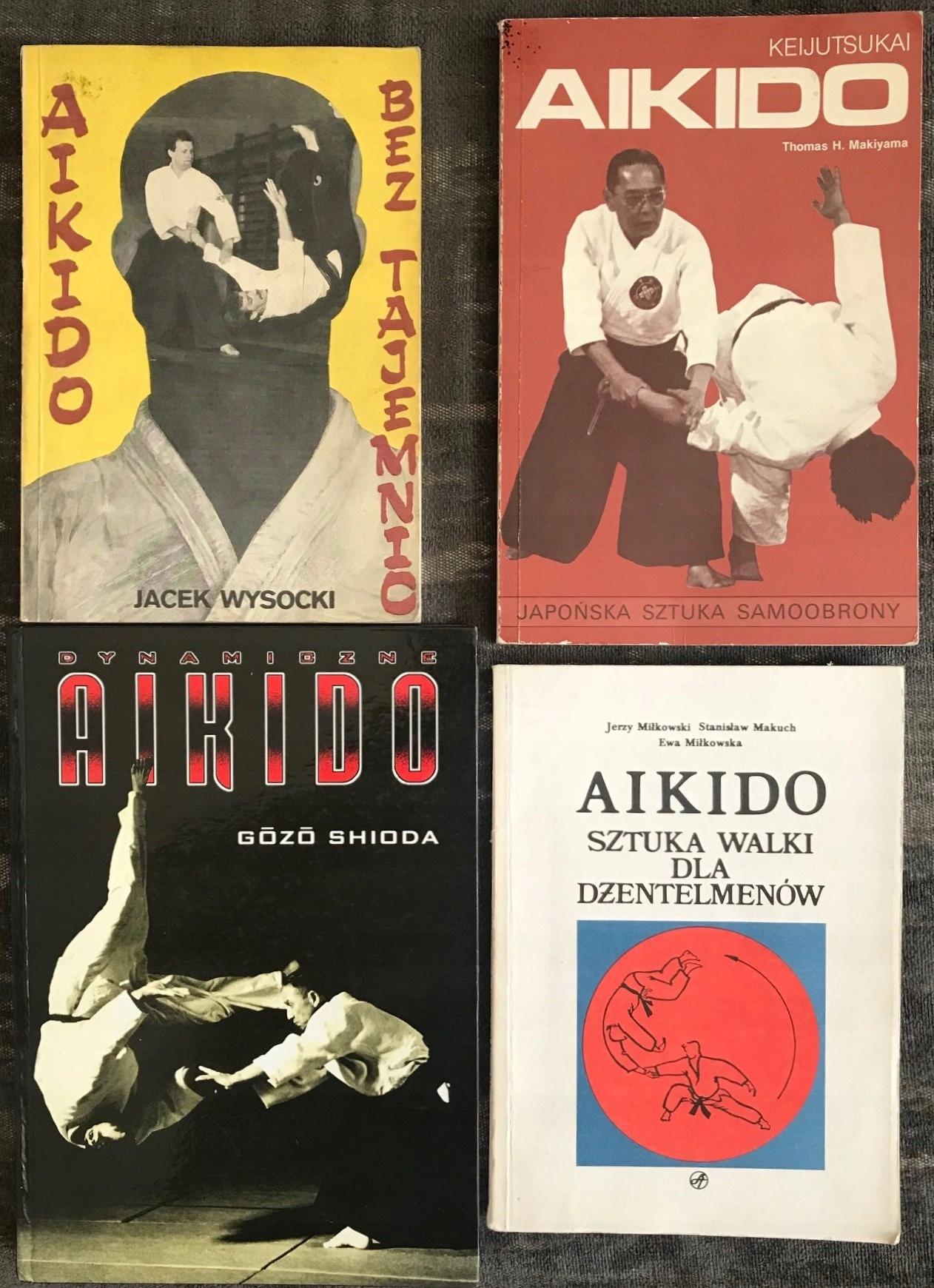 Cztery książki o aikido, bcm, od 1zł