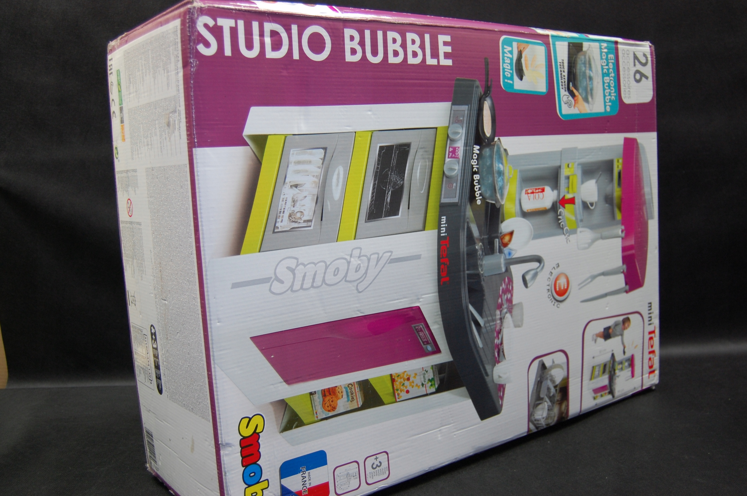 Smoby Kuchnia Mini Tefal Studio Bubble 311006
