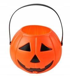Koszyczek Lampion Dynia Doniczka Koszyk Halloween