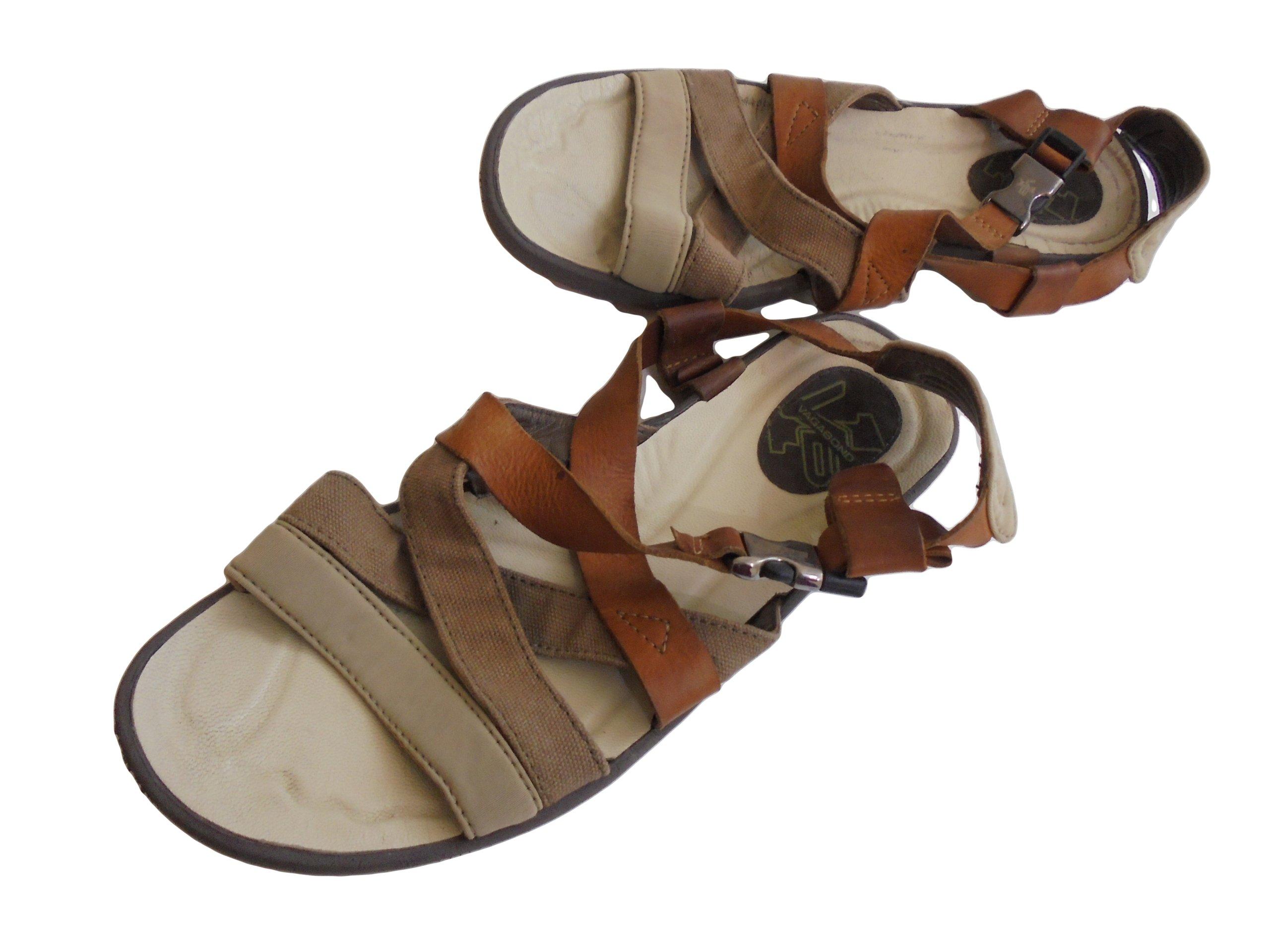 31c15a6780478 Skórzane sandały firmy Vagabond. Rozmiar 39. - 7394742736 ...