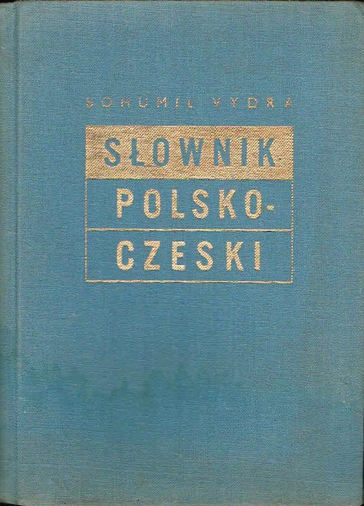 Bohumil Vydra Słownik Polsko Czeski 1952 7091825081