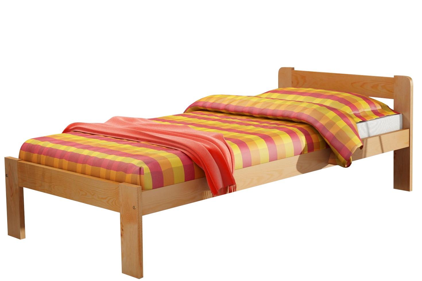 łóżko Pojedyncze Fiord 200x90 Z Materacem W Cenie