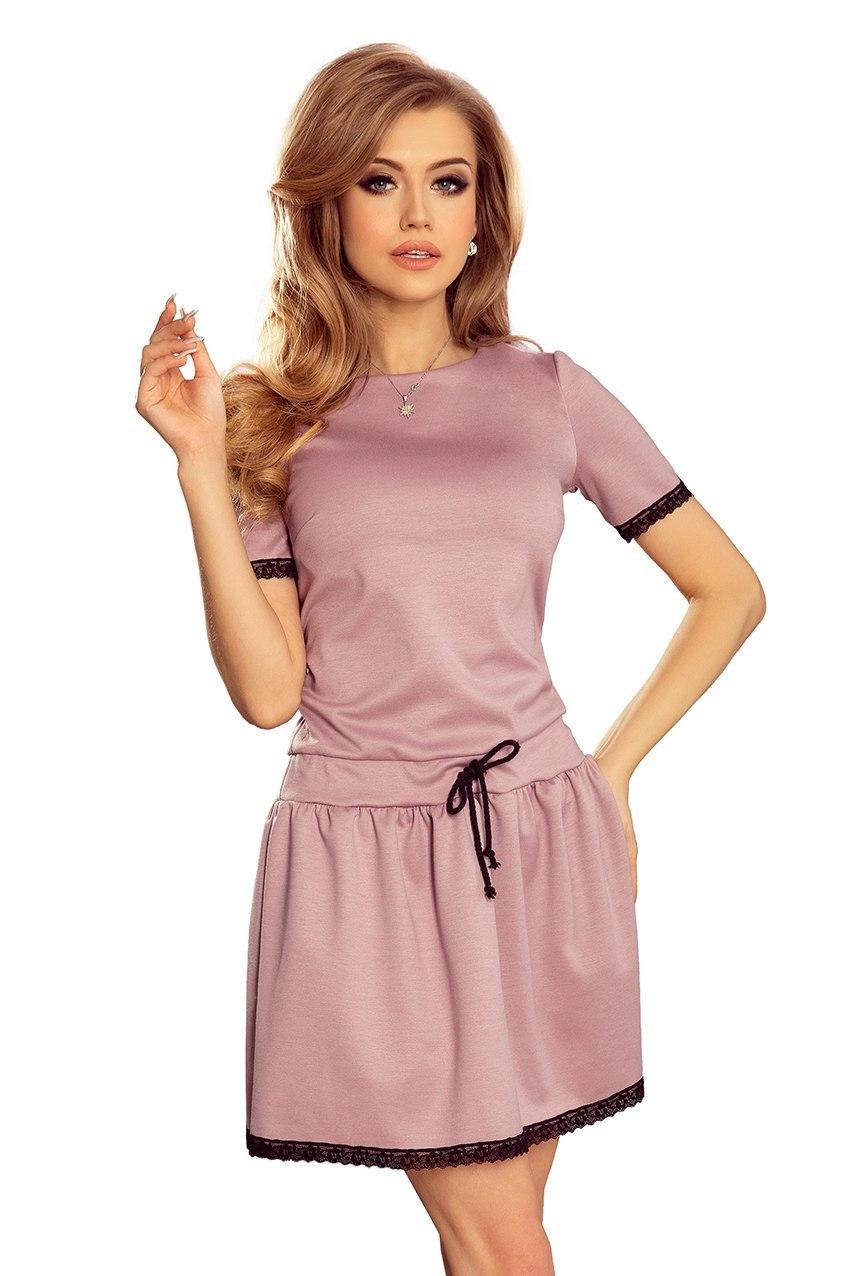 3a81f75ddf 199-1 LISA Sukienka z koronkowymi wstawkami - BRUD - 7317912318 ...