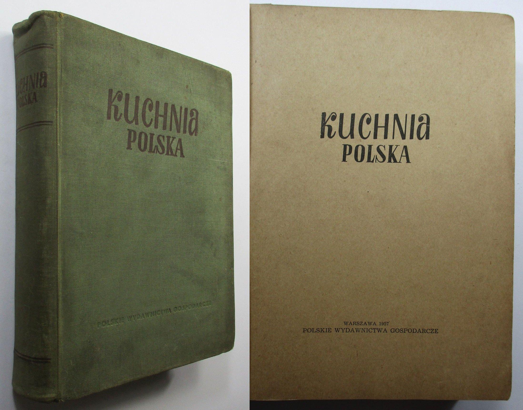 Kuchnia Polska Berger 1957 Książka Kucharska 7168394523