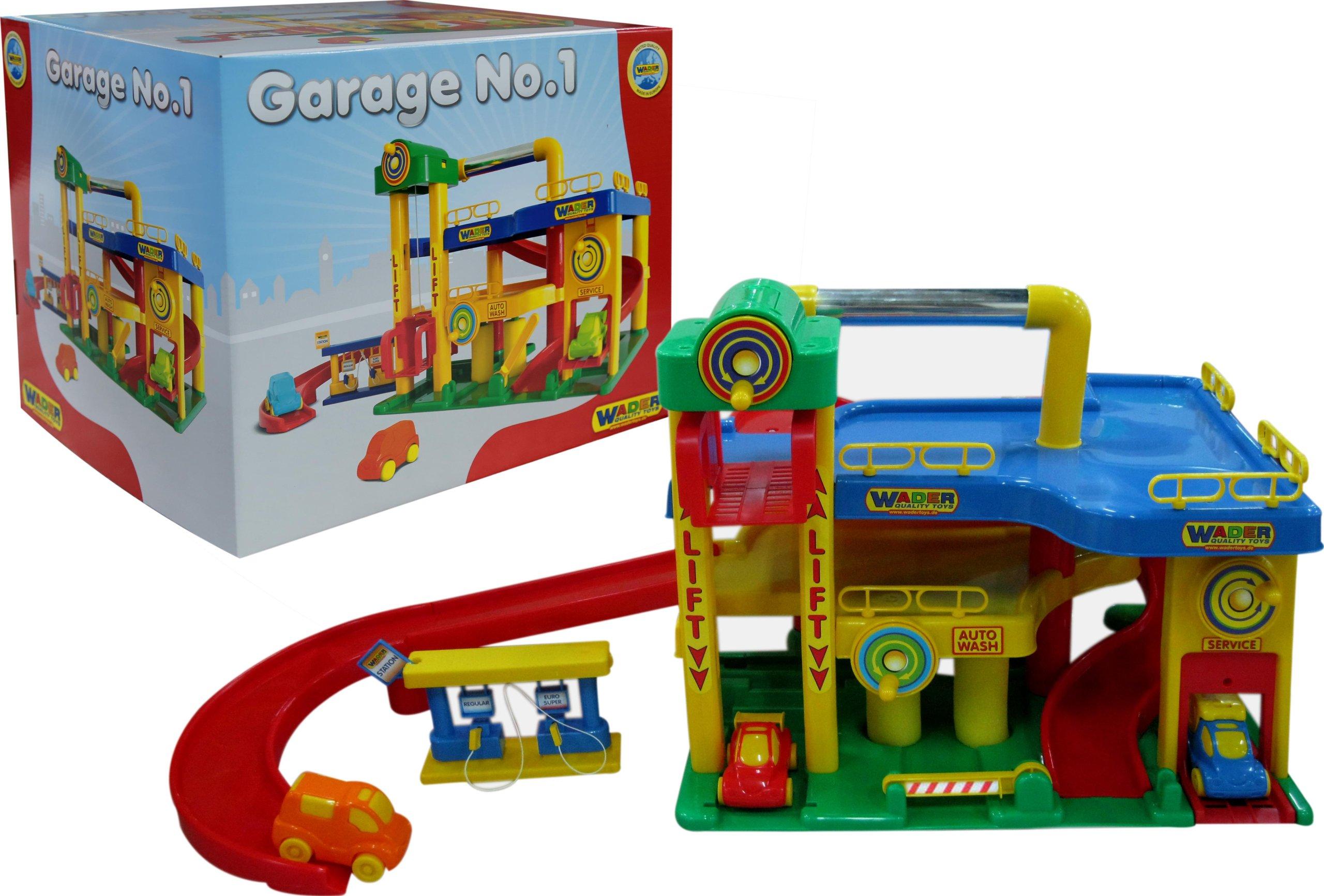Wader Garaż Z Samochodami 2 Poziomowy Solidny 6999602916