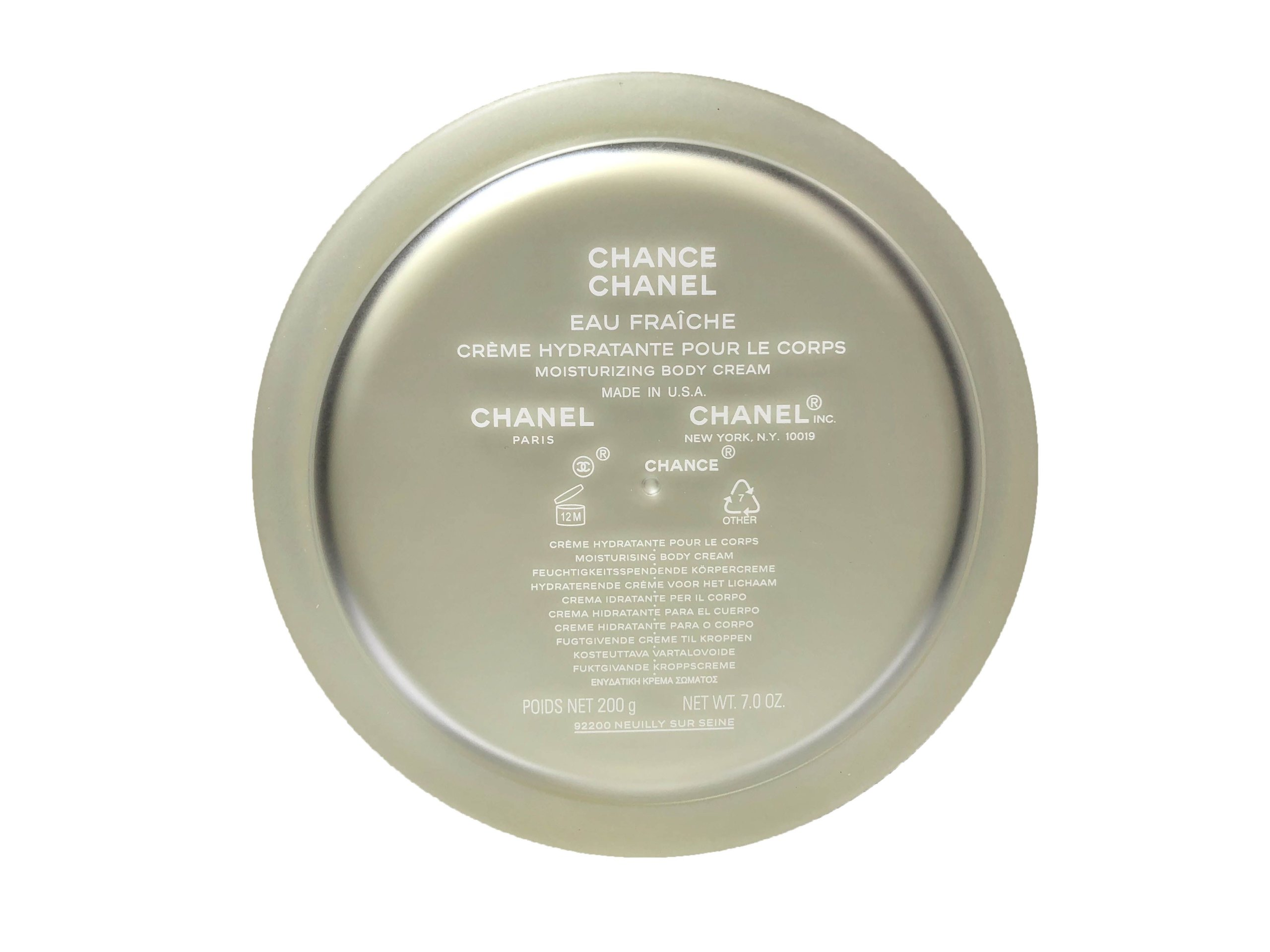 523619b64 CHANEL EAU FRAICHE BODY CREAM 200ML jp - 7673828217 - oficjalne ...