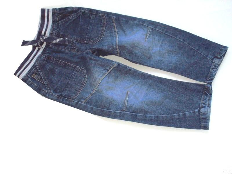 8c487552dd246a NUT MEG ___ spodnie cienkie dżinsy ___ 92/98 - 7134684151 ...