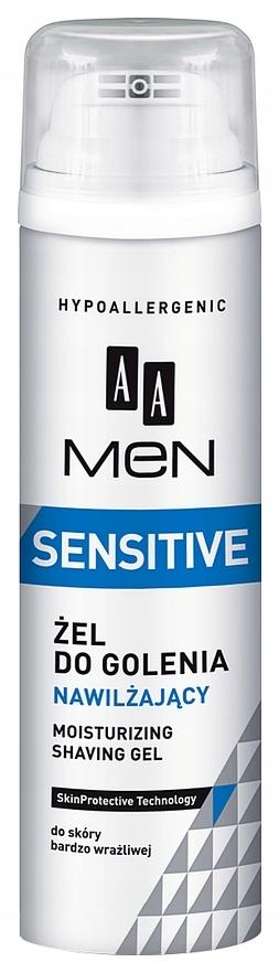 AA Men Sensitive NAWILŻAJĄCY ŻEL DO GOLENIA