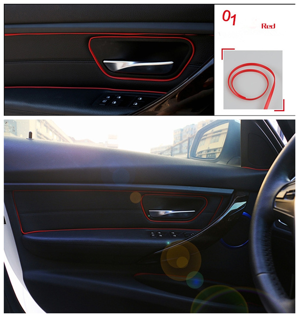 Taśma Konturowa Do Dekoracji Wnętrza Samochodu 7270586424