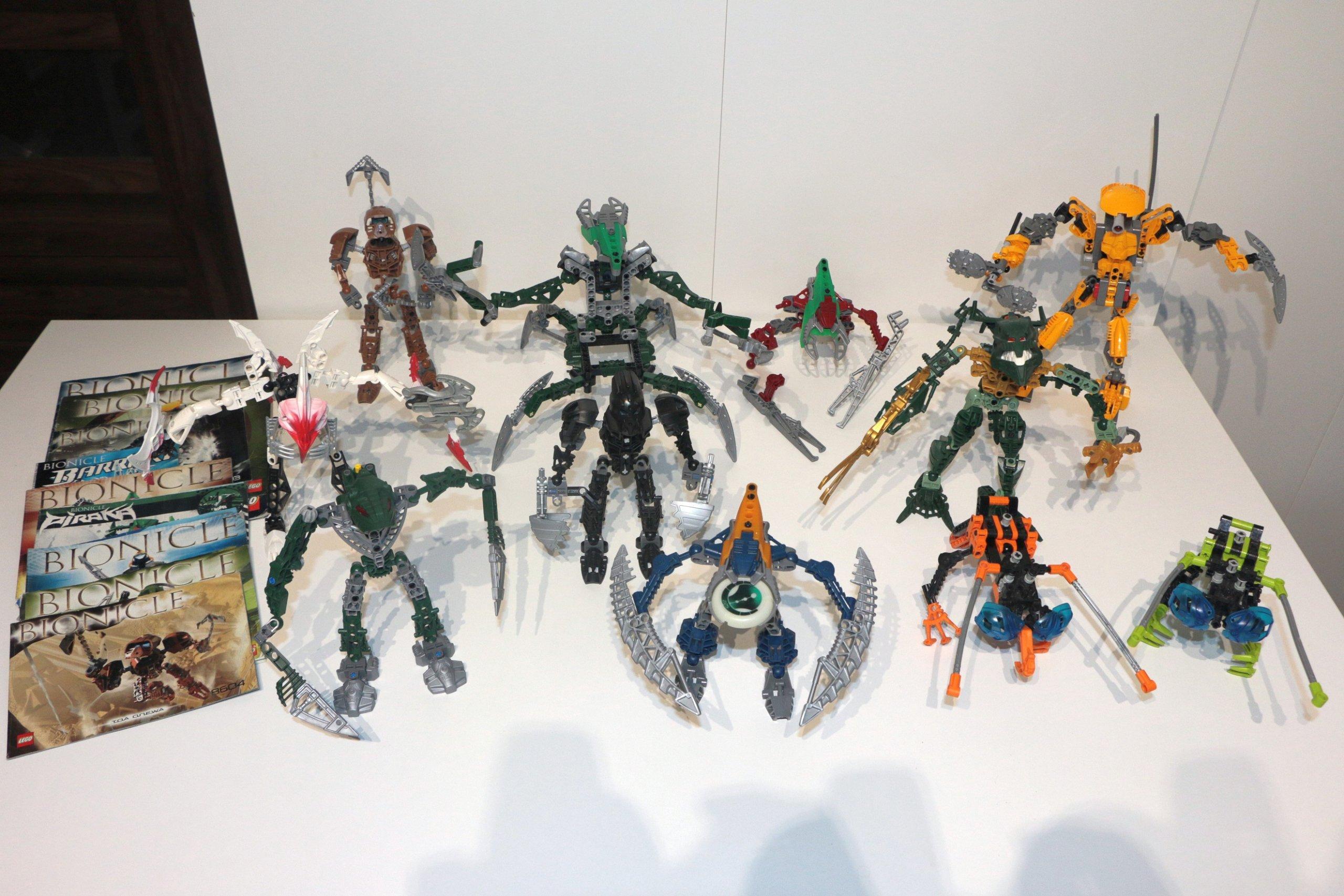 Lego Bionicle 10 Zestawów Z Lat 2001 2007 7084067964 Oficjalne