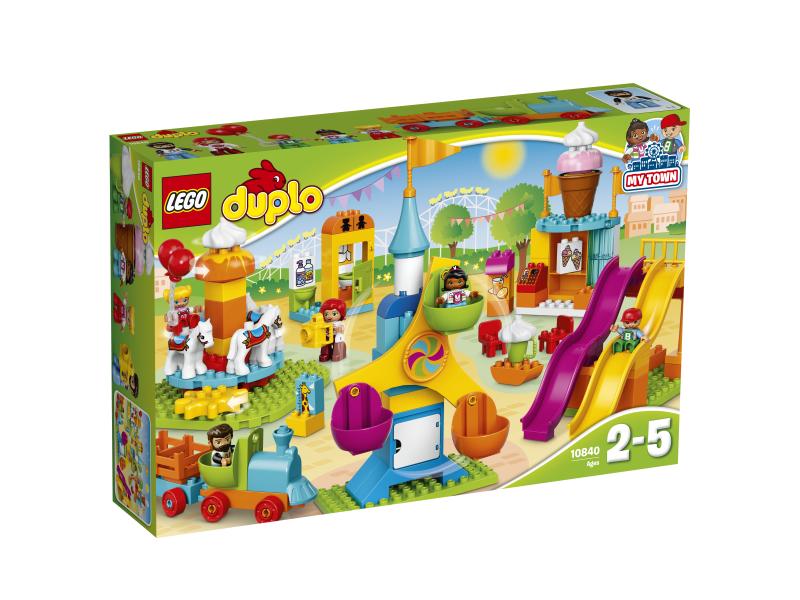 Klocki Lego Duplo Duże Wesołe Miasteczko 10840 7218555465