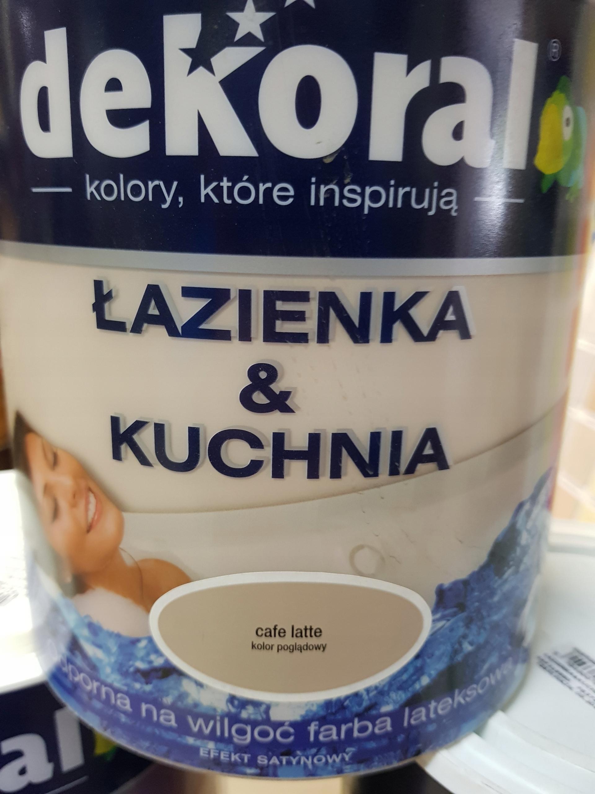 Dekoral Kuchnia łazienka Cafe Latte 25l 7457909226
