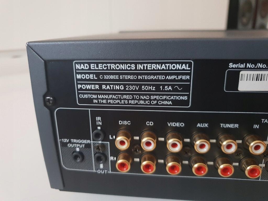 Wzmacniacz NAD C320bee stereo