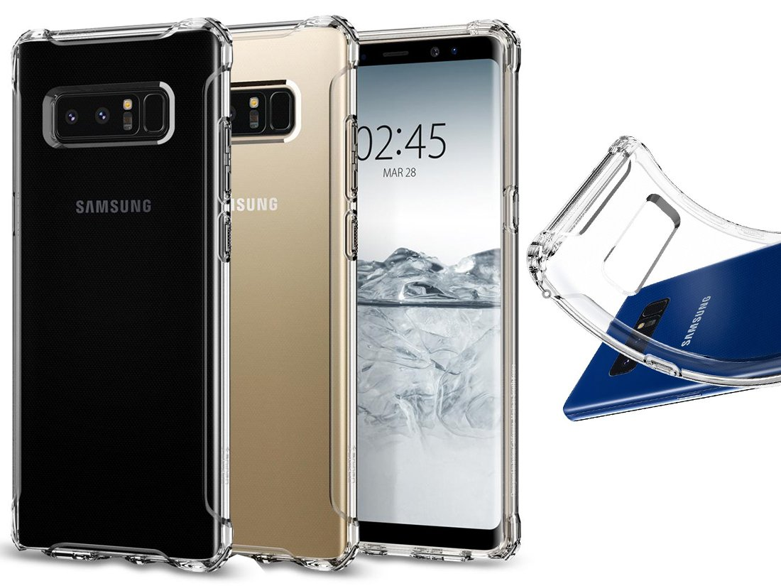 SPIGEN RUGGED CRYSTAL - ETUI CASE - GALAXY NOTE 8