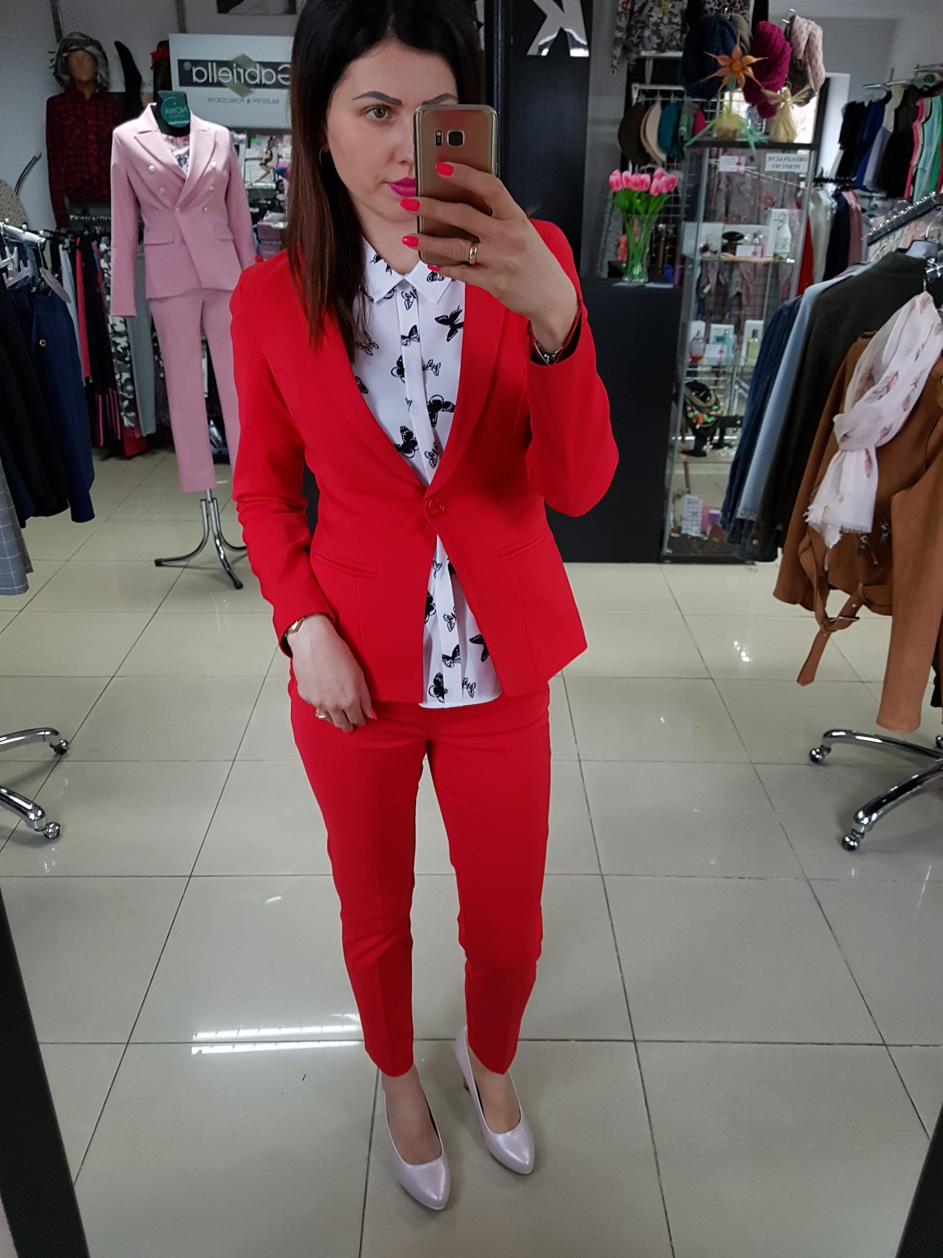 b03c5e86a08e1 czerwone w kategorii Garsonki i kostiumy Nowy w Oficjalnym Archiwum Allegro  - archiwum ofert