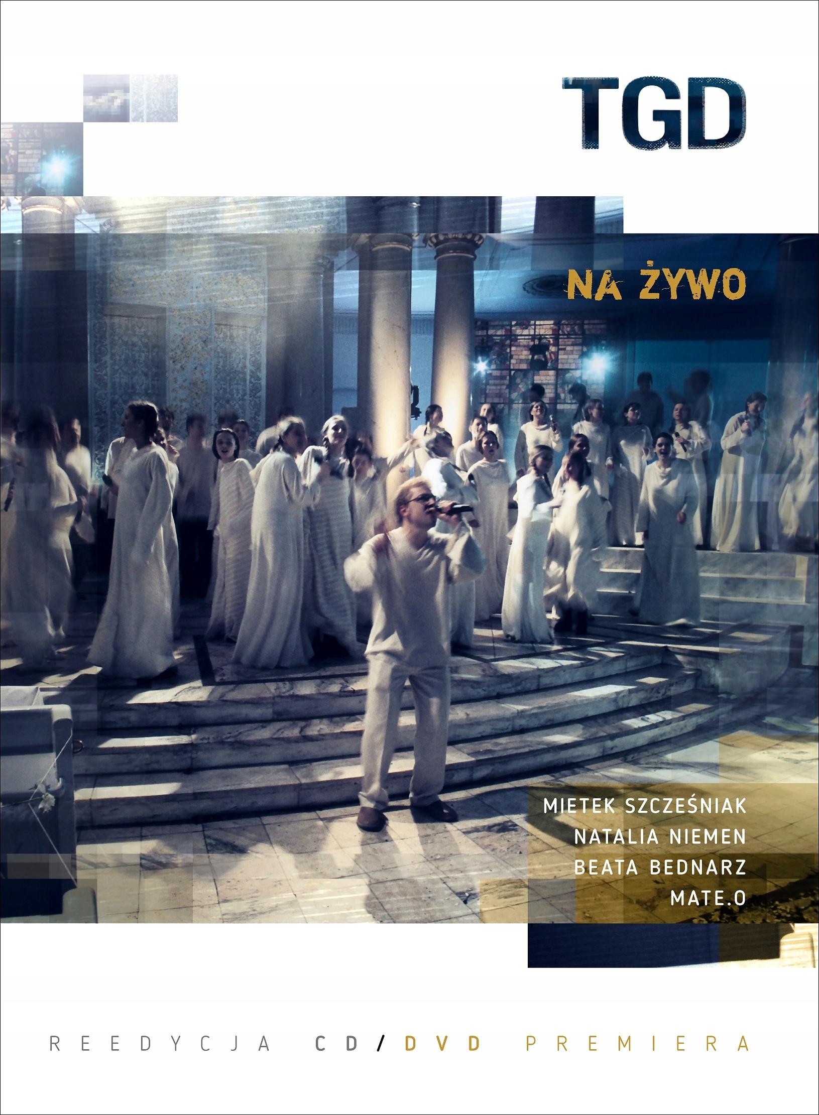 TGD Na Żywo CD+DVD Szcześnik NIEMEN Prezent SZYBKO