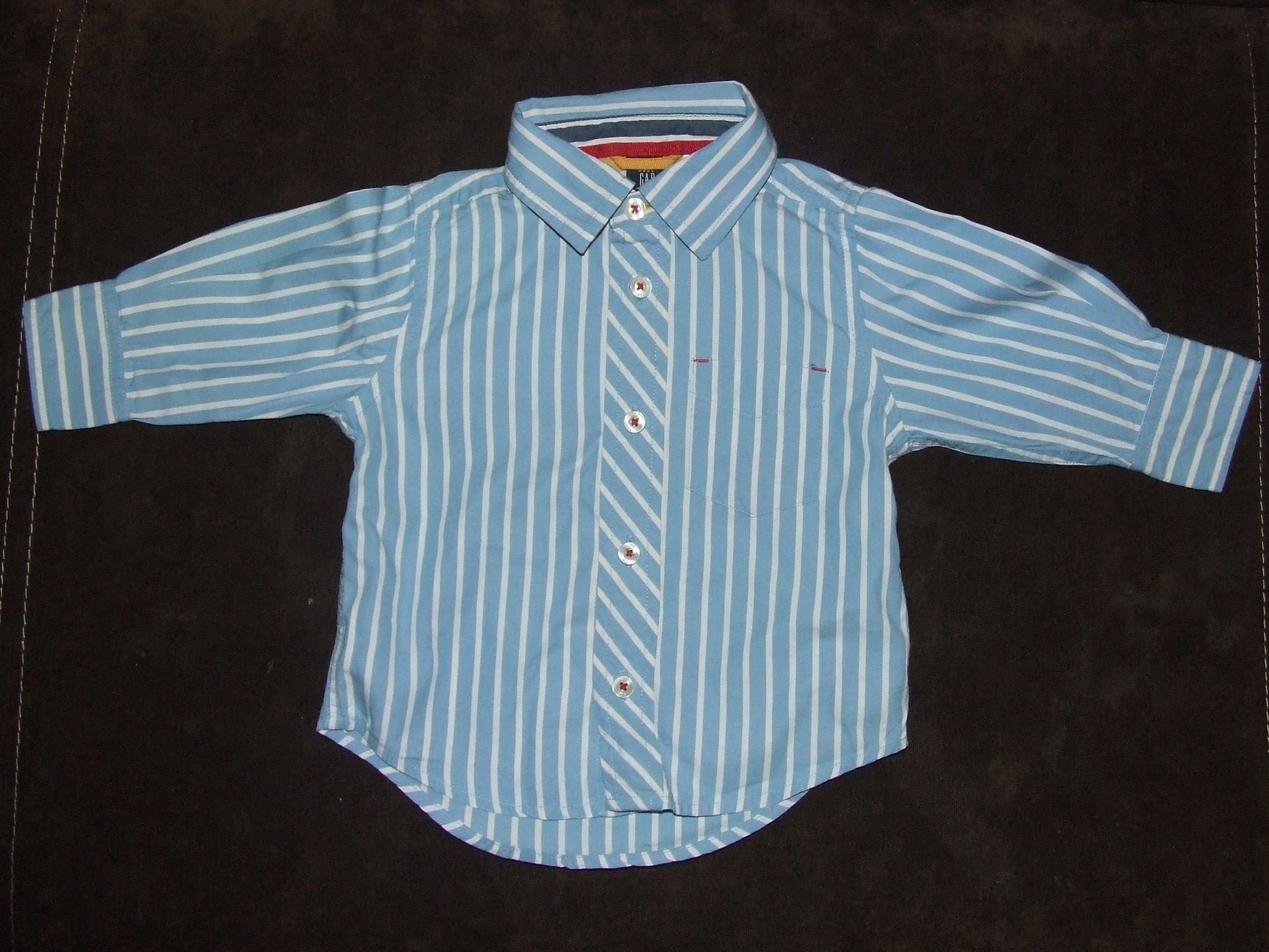 Elegancka koszula babyGAP GAP rozm 74 6-12 m [337]