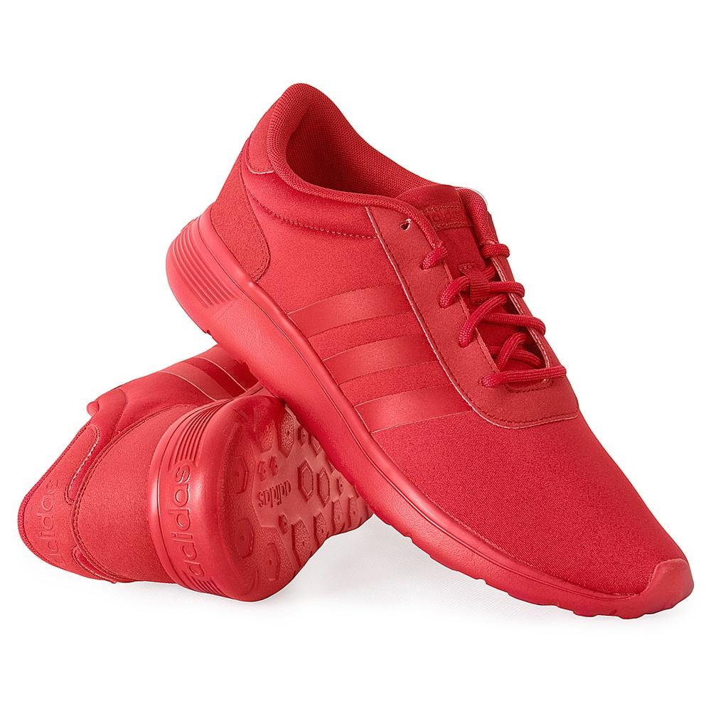 buty adidas neo męskie czerwone