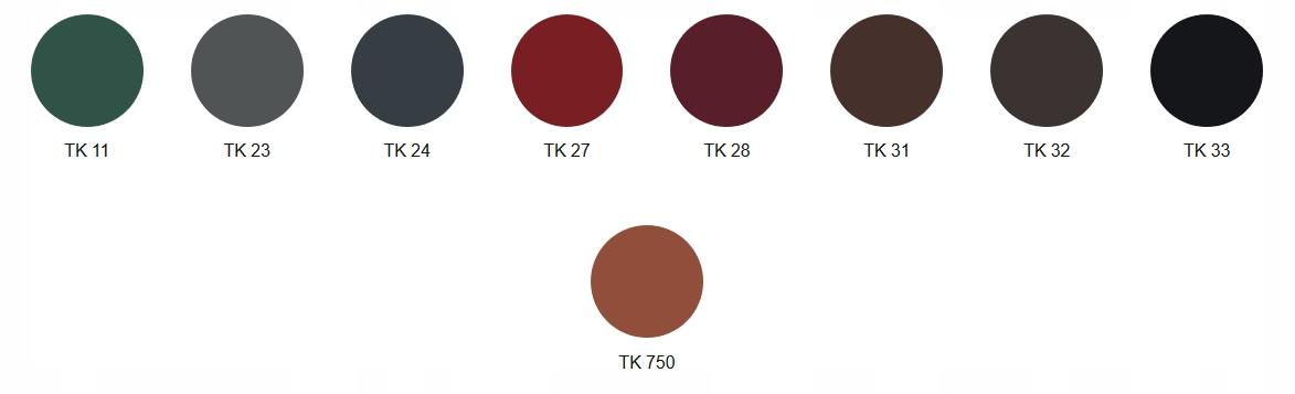 Inteligentny Blachodachówka Gamma 25/350 BP2 mat TK - 7563649187 - oficjalne ZH53