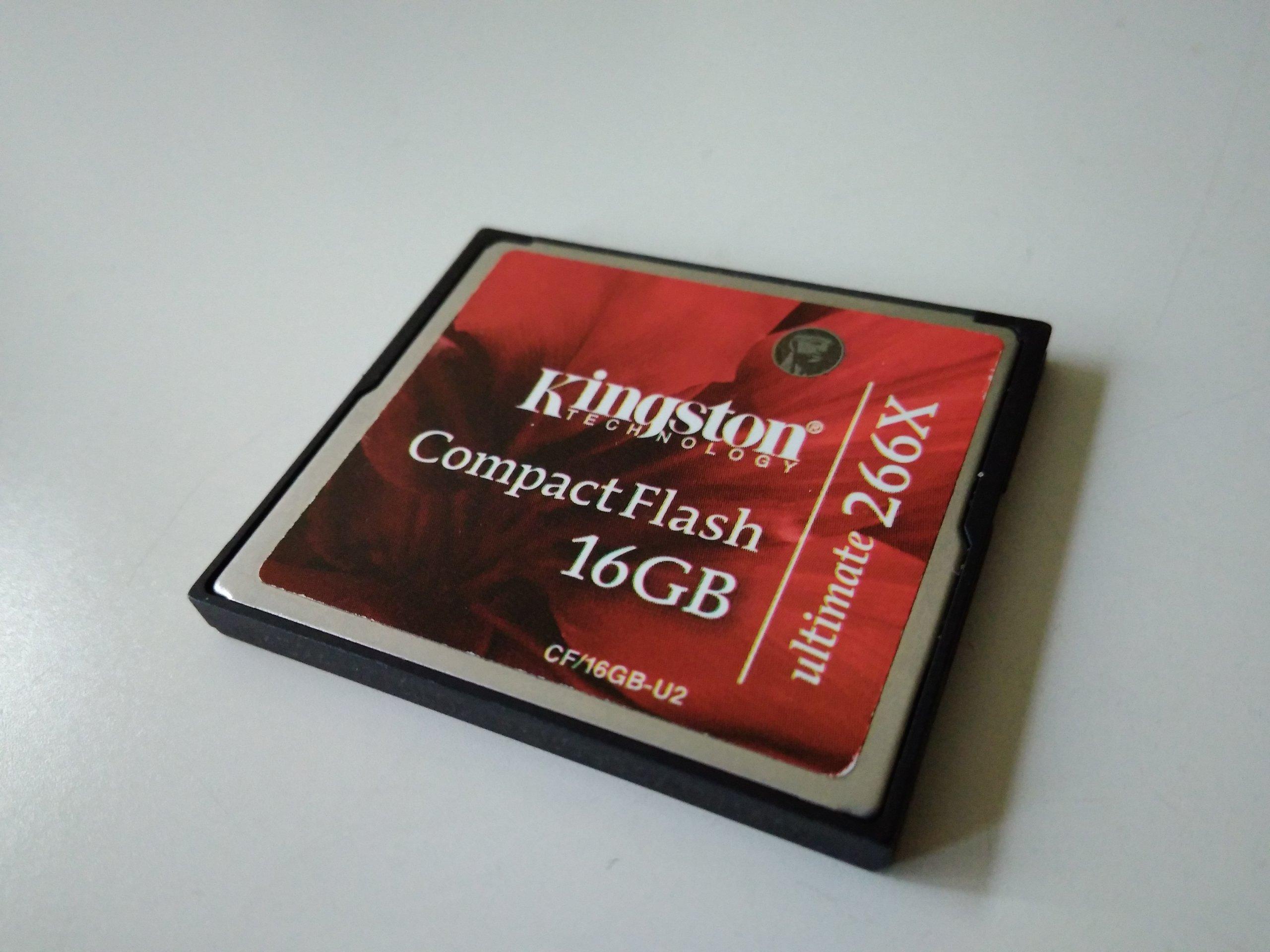 Karta Cf 16 Gb Kingston 7050282918 Oficjalne Archiwum Allegro