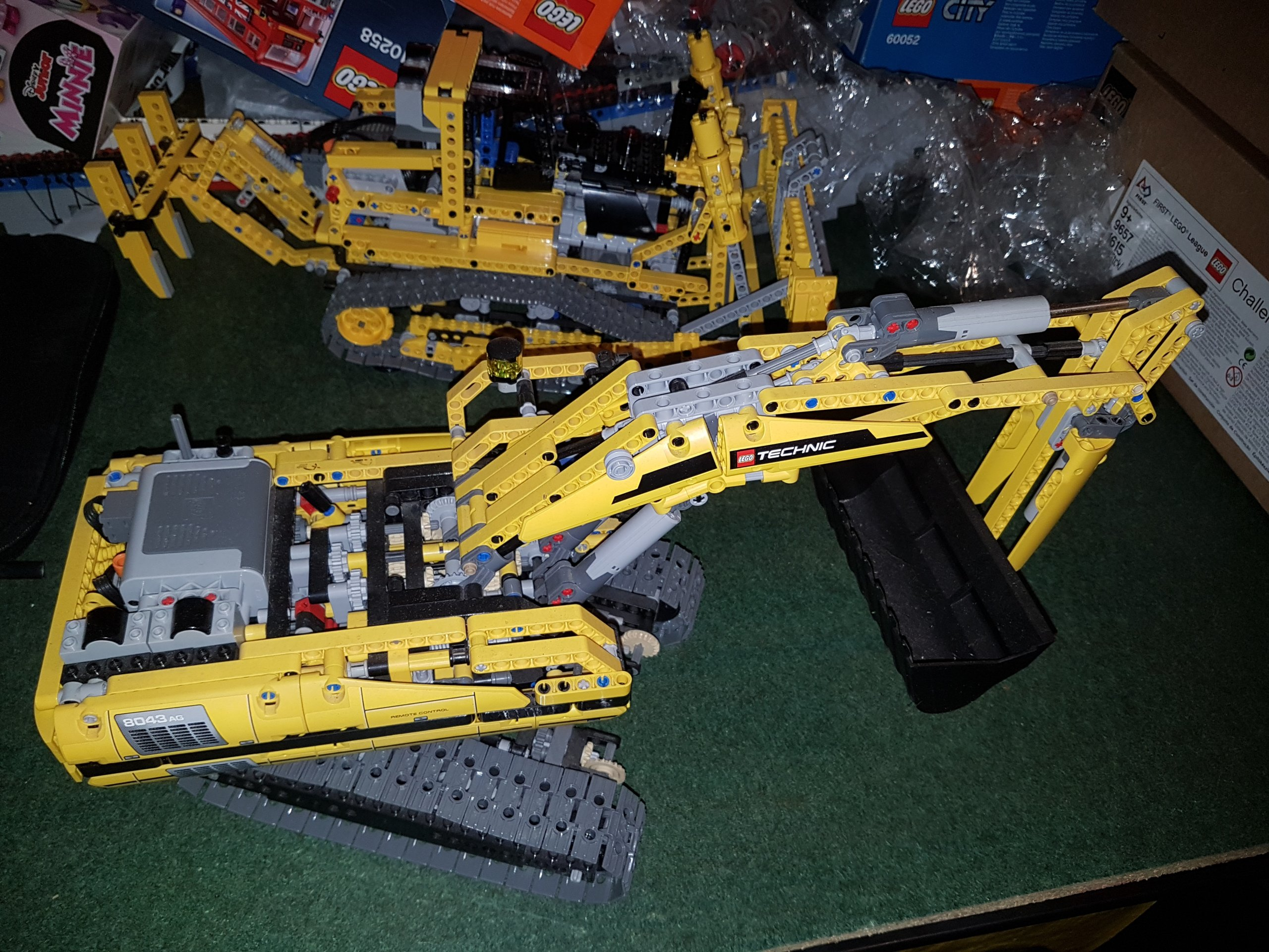 Lego Technic 8043 Zmotoryzowana Koparka Instrukc 7091375760