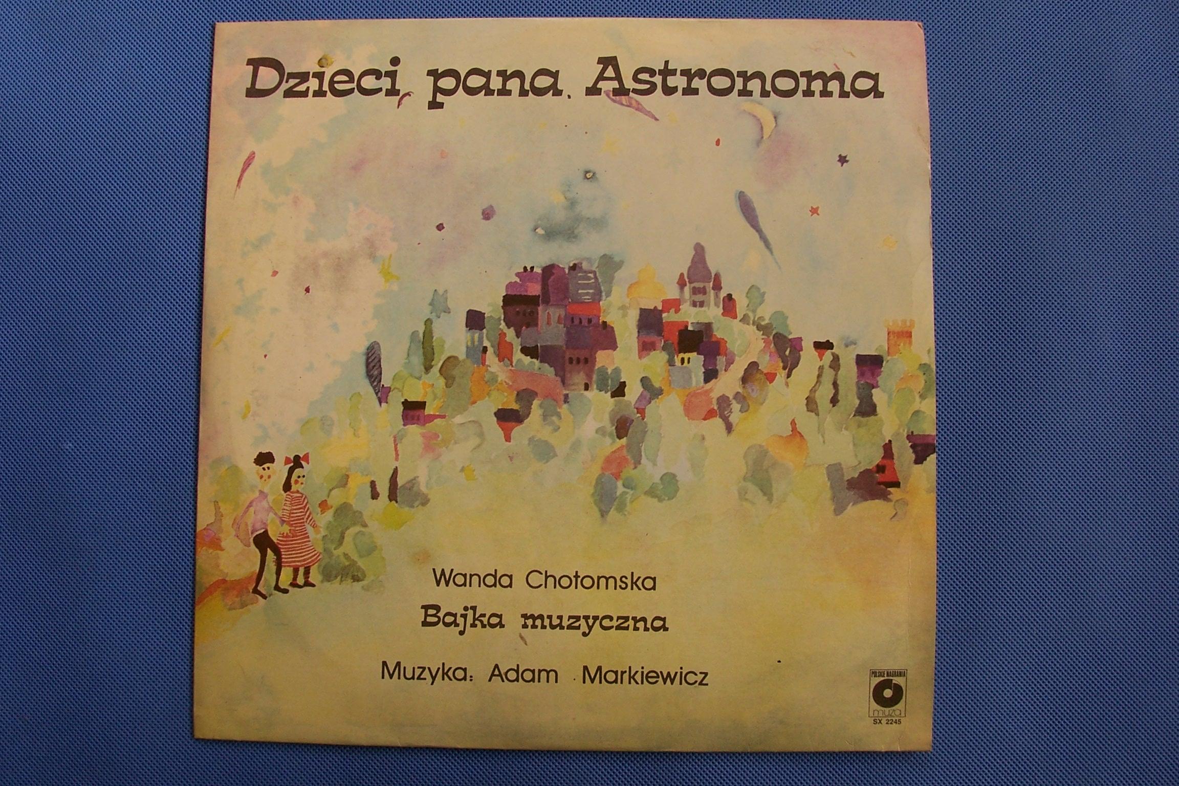 Dzieci Pana Astronoma Baśń Muzyczna 7513539221 Oficjalne