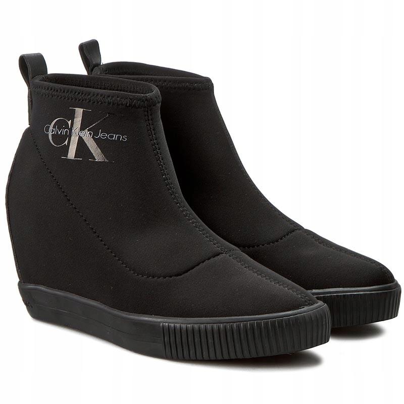 efd962cc672ca Botki Sneakersy CALVIN KLEIN JEANS r 41 - 7661157251 - oficjalne ...
