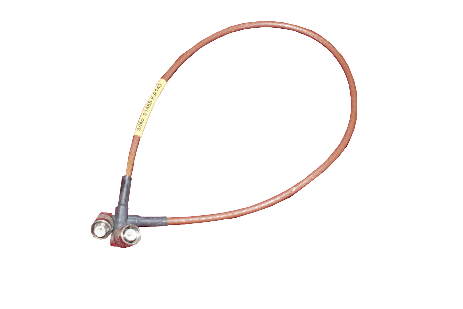 Kabel koncentryczny 59cm antenowy 2xTNC kątowe