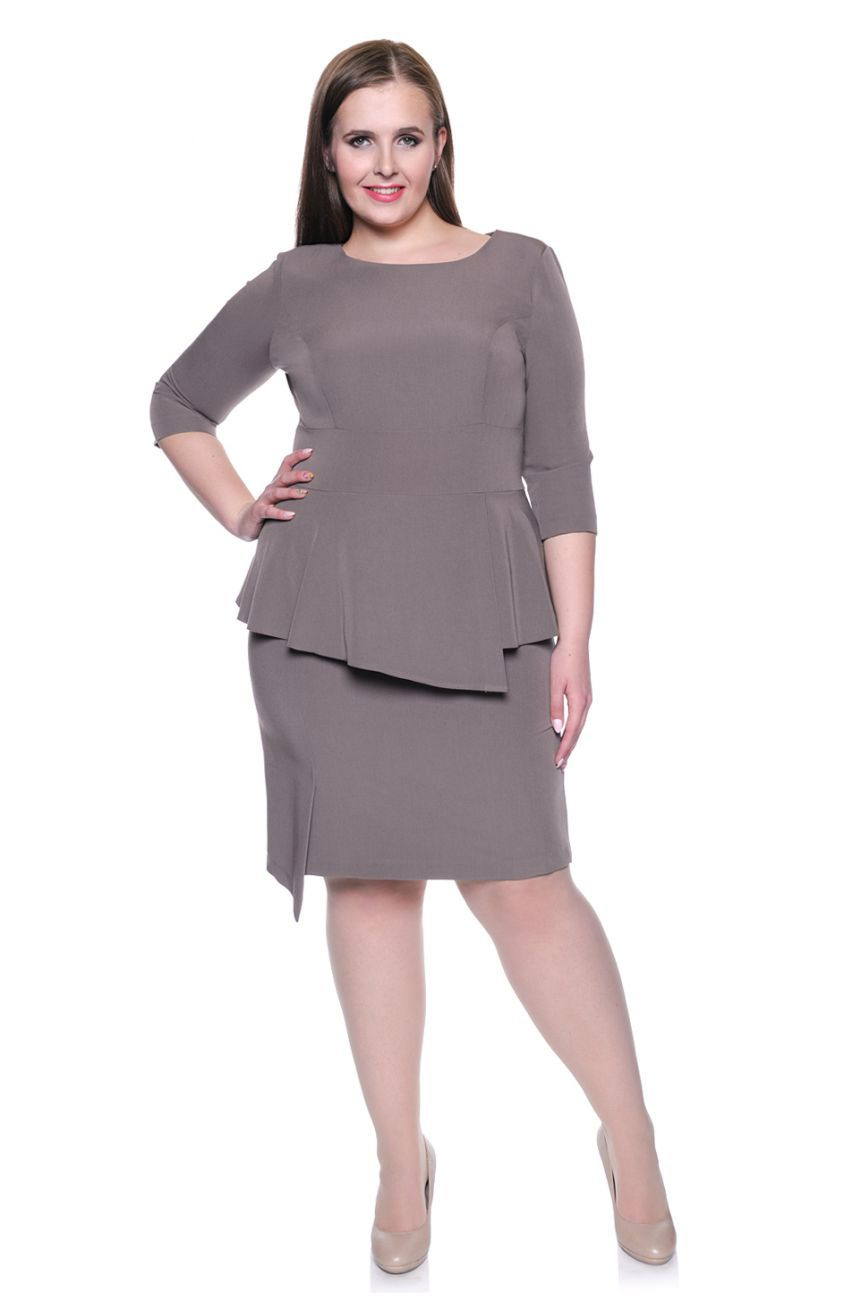f5e0ee2520 Beżowa sukienka baskinka r. 56 - 7072459592 - oficjalne archiwum ...
